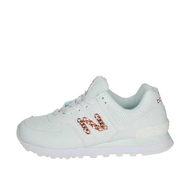 New Balance Shoes Sneakers White WL574HNE