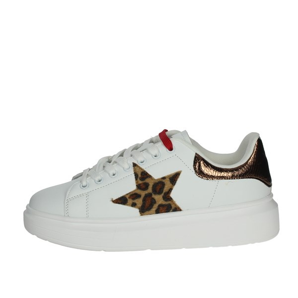 Shop Art Shoes Sneakers White/Red SA0300