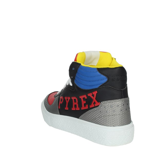 Pyrex Shoes Sneakers Black/Red PY020234
