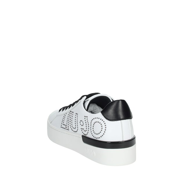Liu-jo Shoes Sneakers White SILVIA 10