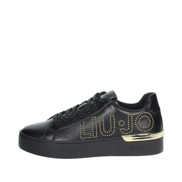 Liu-jo Shoes Sneakers Black SILVIA 10