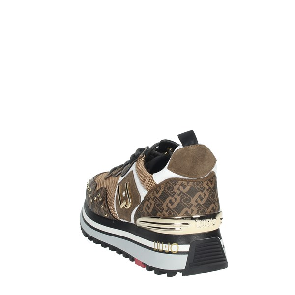 Liu-jo Shoes Sneakers Brown WONDER MAXI