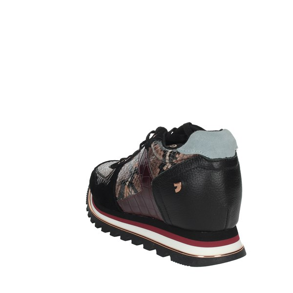 Gioseppo Shoes Sneakers Black/Burgundy 60454