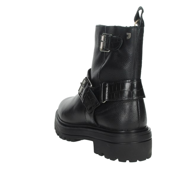 Gioseppo Shoes Ankle Boots Black 60545