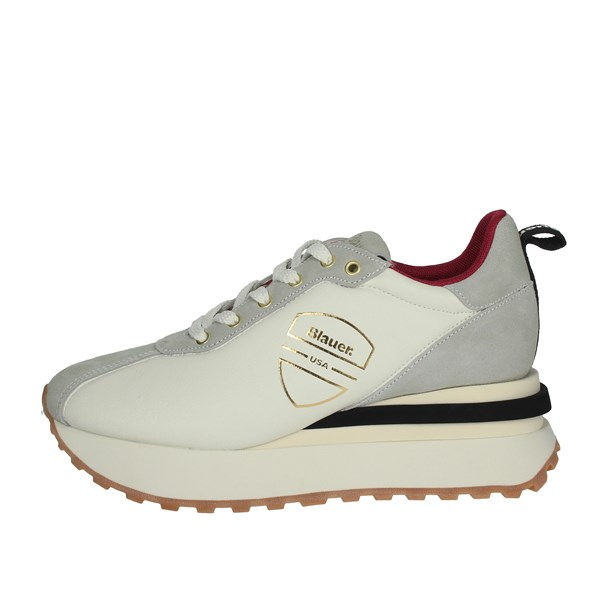 Blauer Shoes Sneakers Creamy white MABEL01