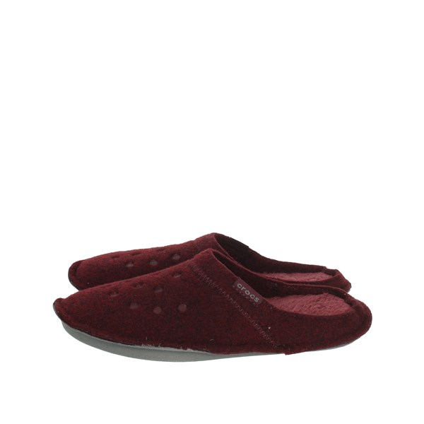 Crocs Shoes Clogs Burgundy 203600