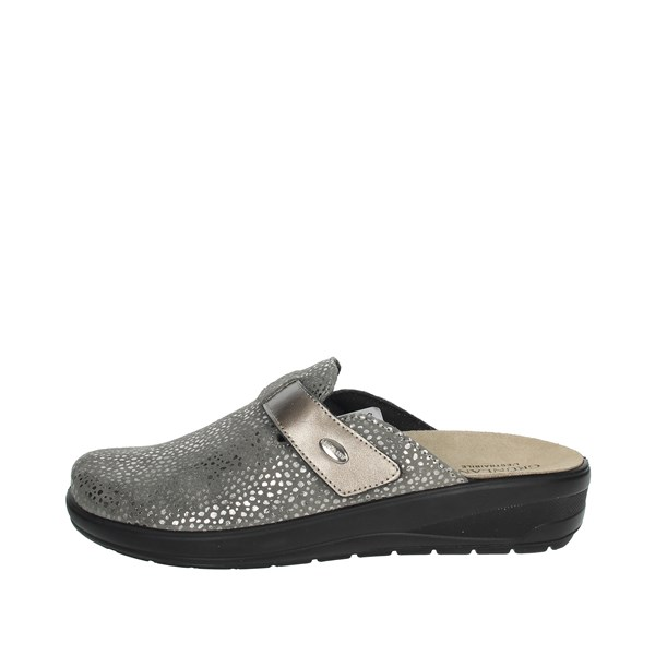 Grunland Shoes Clogs Brown Taupe CE2758-59