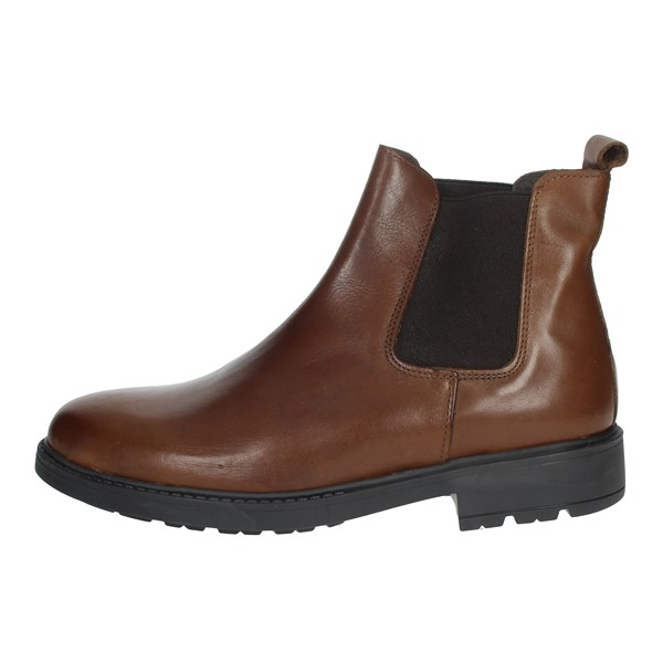 Free Time Shoes Ankle Boots Brown 05