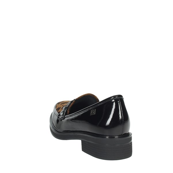 Laura Biagiotti Shoes Moccasin Black 6475