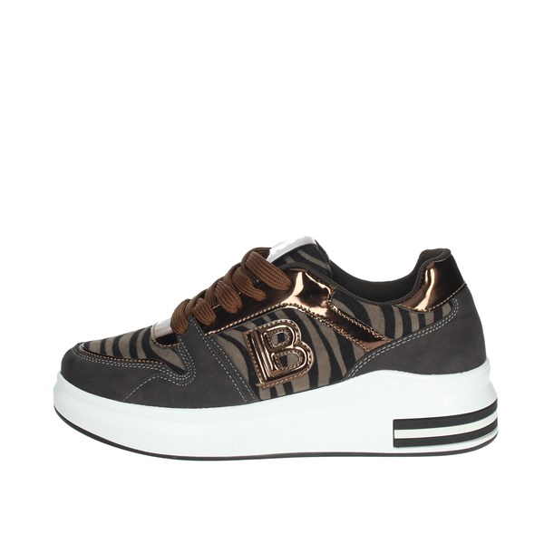 Laura Biagiotti Shoes Sneakers Bronze  6408