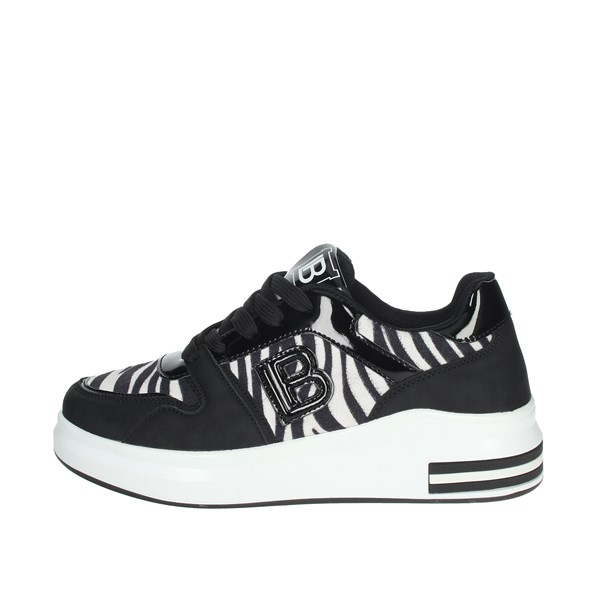 Laura Biagiotti Shoes Sneakers Black/White 6408