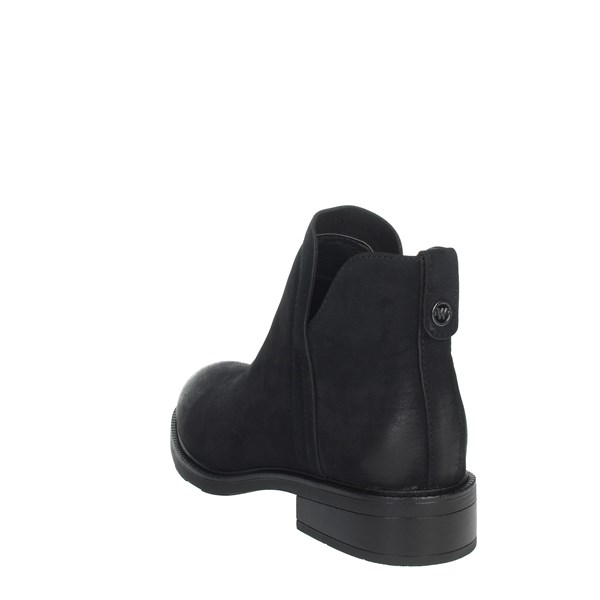 Wrangler Shoes Ankle Boots Black WL02650A