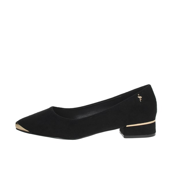 Menbur Shoes Ballet Flats Black 22113