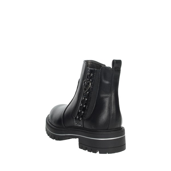 Asso Shoes Ankle Boots Black AG-9100