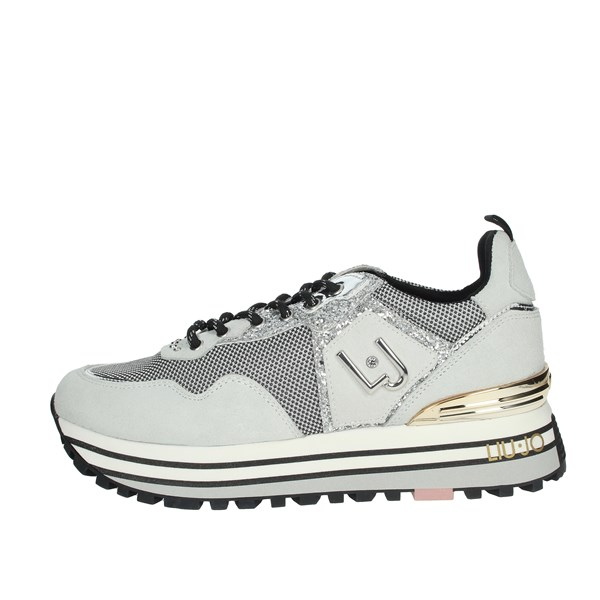 Liu-jo Shoes Sneakers Ice grey WONDER MAXI