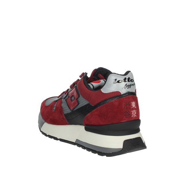 Lotto Leggenda Shoes Sneakers Red 215076
