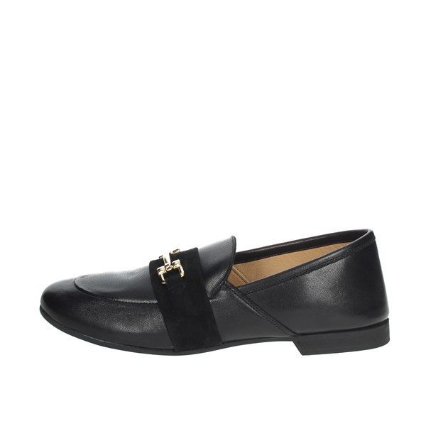 Marlena Shoes Moccasin Black GIULIA