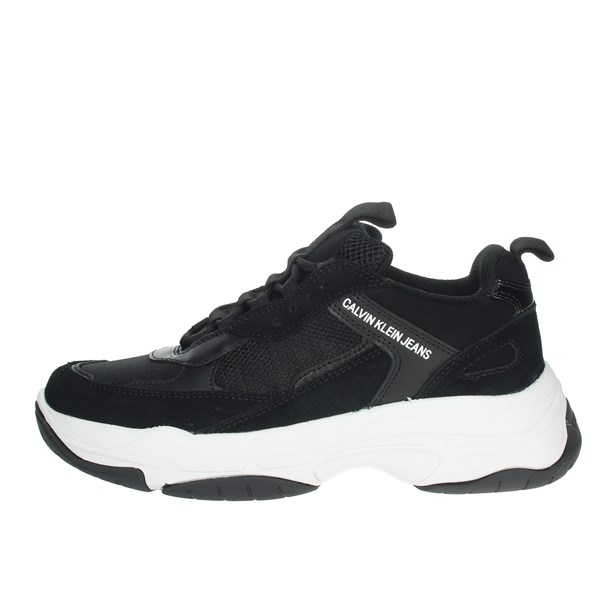 Calvin Klein Jeans Shoes Sneakers Black B4R1653