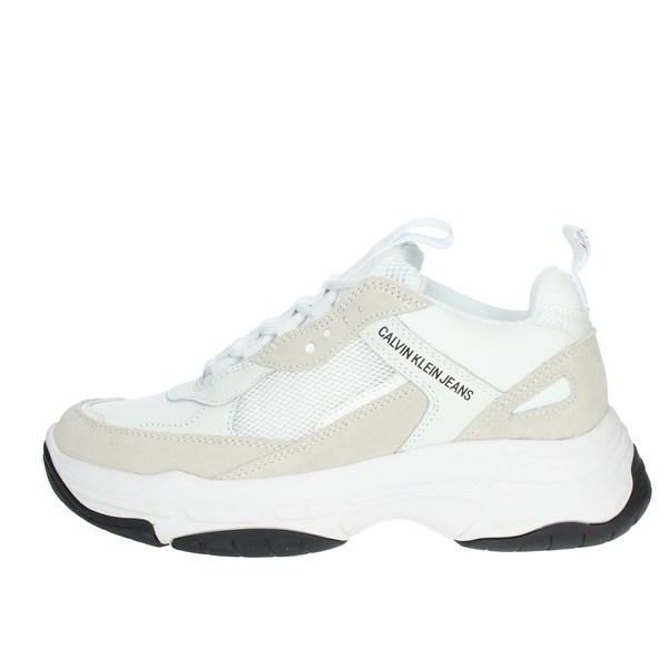 Calvin Klein Jeans Shoes Sneakers White B4R1653