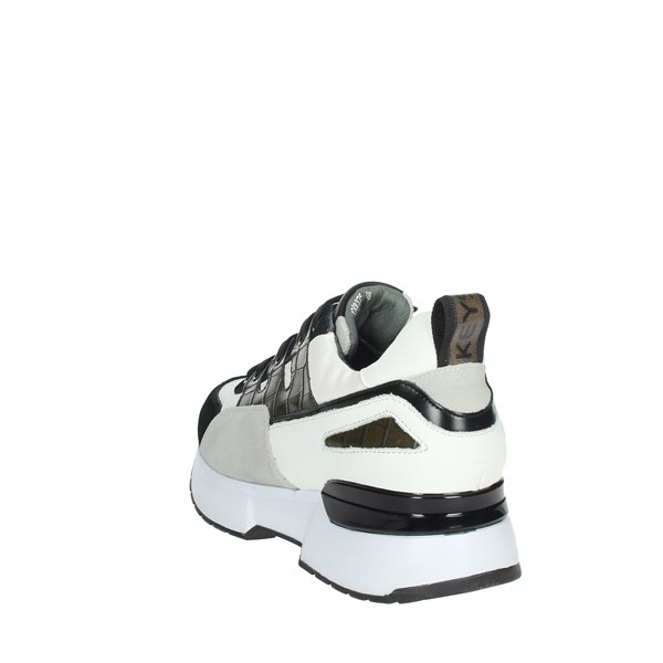 Keys Shoes Sneakers White/Black K-3461