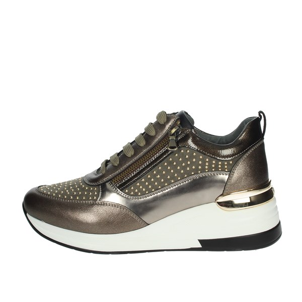 Keys Shoes Sneakers Brown Taupe K-2503