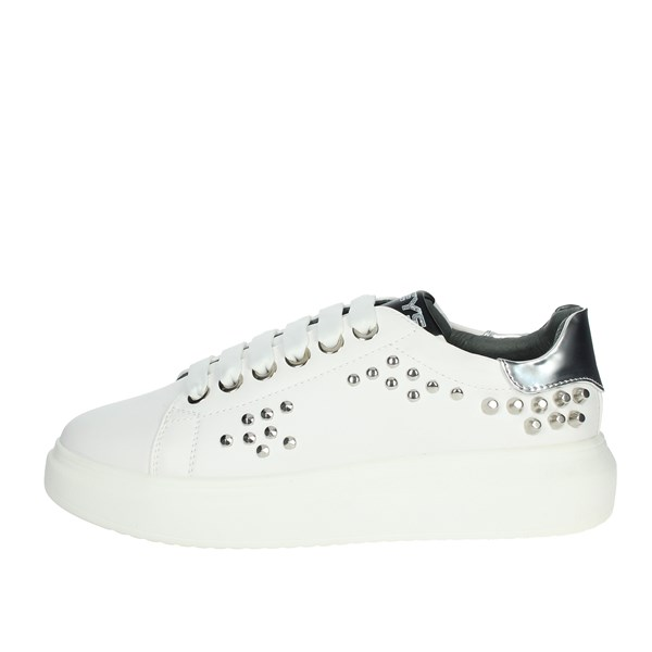 Keys Shoes Sneakers White K-2202