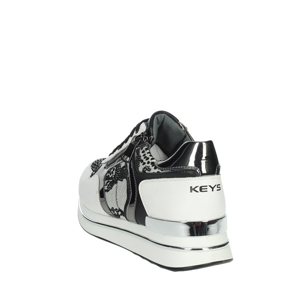 Keys Shoes Sneakers White K-2900