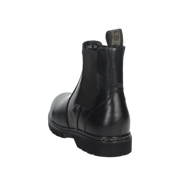 Keys Shoes Ankle Boots Black K-3304