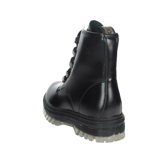 Keys Shoes Boots Black K-3510