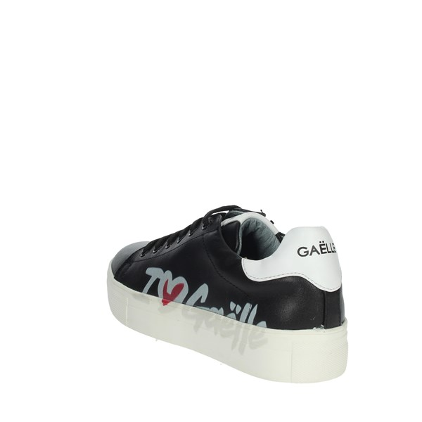 Gaelle Paris Shoes Sneakers Black G-411
