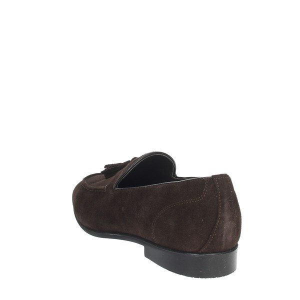 Gino Tagli Shoes Moccasin Brown A104NP