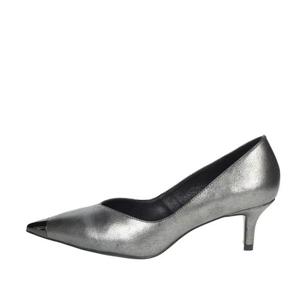 Gold & Gold Shoes Pumps Charcoal grey GE87