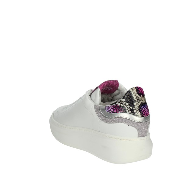 Meline Shoes Sneakers White/Fuchsia 1601