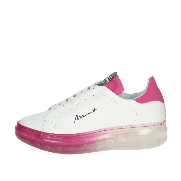 Meline Shoes Sneakers White/Fuchsia 1605