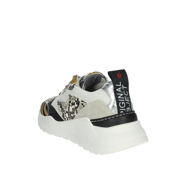 Meline Shoes Sneakers White/Black 7071