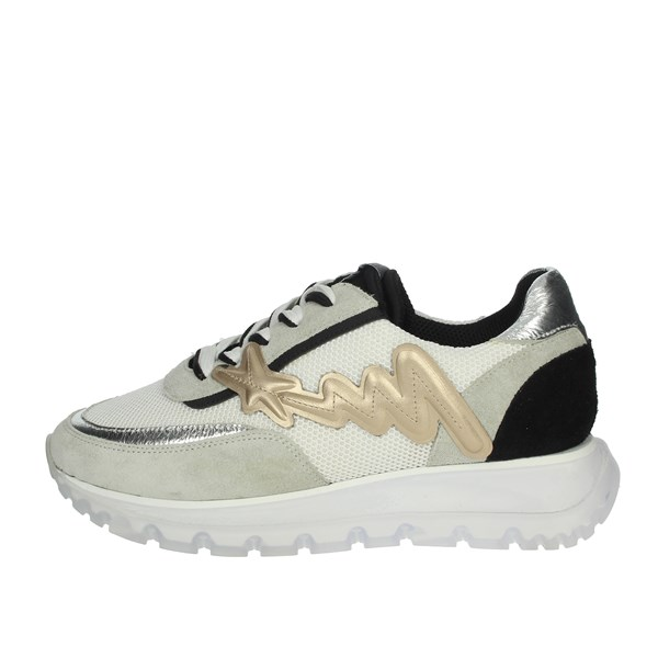 Meline Shoes Sneakers White/Black 1700