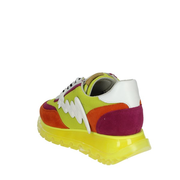 Meline Shoes Sneakers Yellow-Fluo 1700