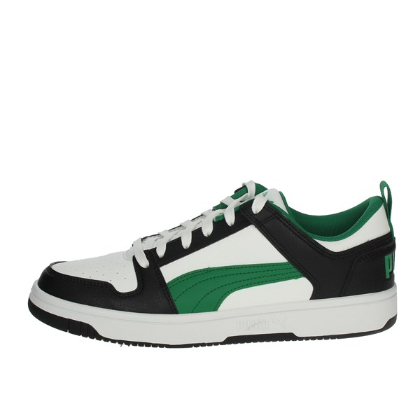 Puma Shoes Sneakers White/Green 369866