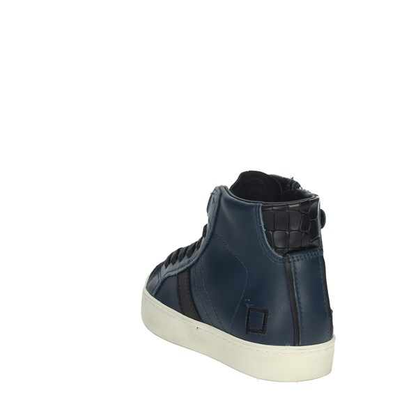 D.a.t.e. Shoes Sneakers Blue J291