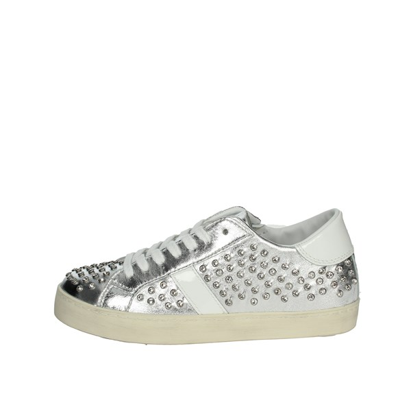 D.a.t.e. Shoes Sneakers Silver J291