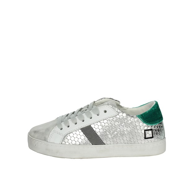 D.a.t.e. Shoes Sneakers Silver J311