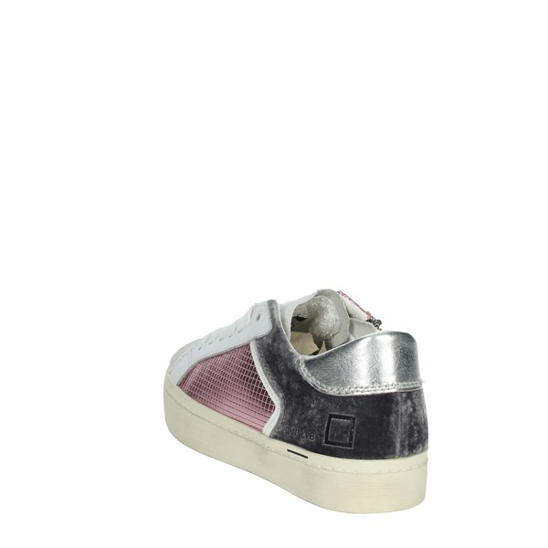 D.a.t.e. Shoes Sneakers White/Pink J311