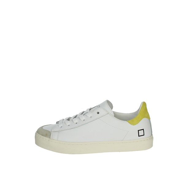 D.a.t.e. Shoes Sneakers White/Yellow J301