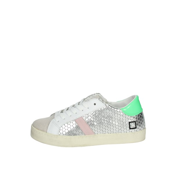 D.a.t.e. Shoes Sneakers Silver J301