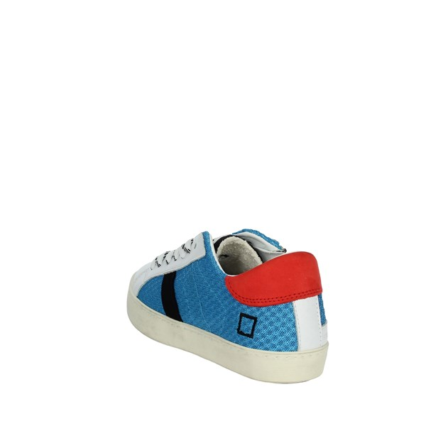 D.a.t.e. Shoes Sneakers White/Light Blue J301