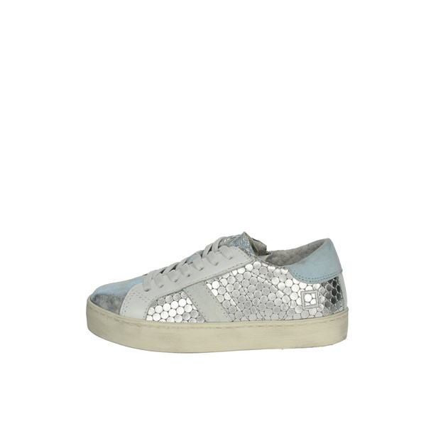 D.a.t.e. Shoes Sneakers Silver J281
