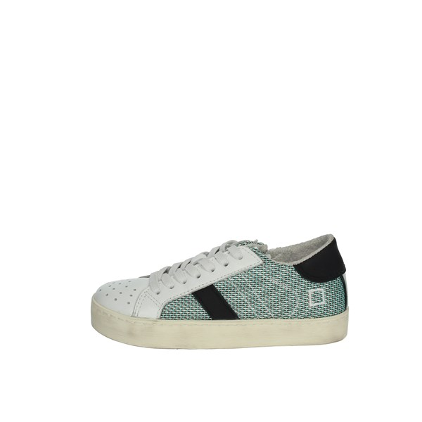 D.a.t.e. Shoes Sneakers White/Green J281