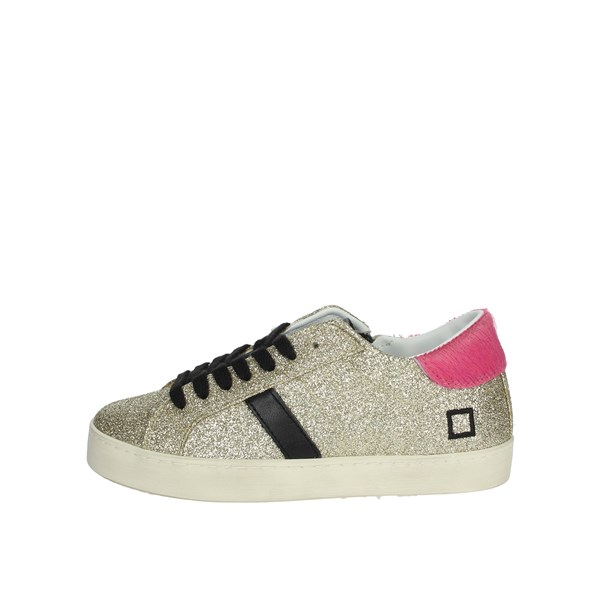 D.a.t.e. Shoes Sneakers Platinum  J291