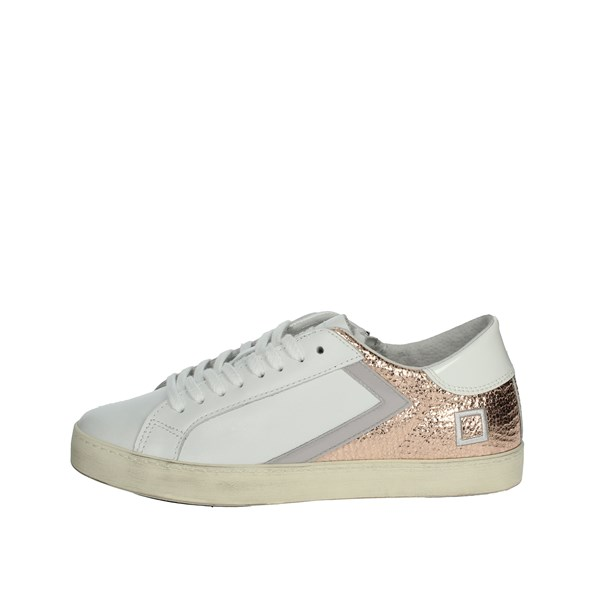 D.a.t.e. Shoes Sneakers White/Light dusty pink J281