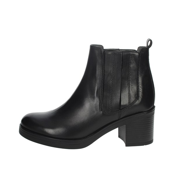 Manas Shoes Ankle Boots Black 10243M